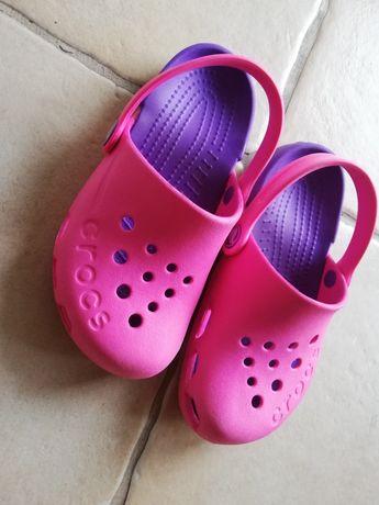 Crocs Menina rosa e roxas NOVAS