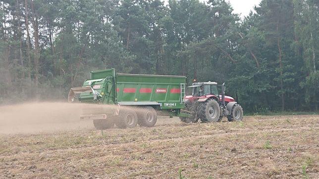 Usługi Rolnicze siew kukurydzy rozrzucanie wapna obornik gnojowica GPS