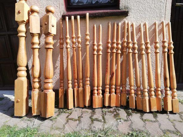 Tralki drewniane schodowe sztuka 9.5zl