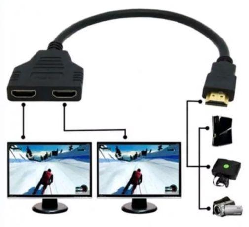 Splitter derivador HDMI 2 saídas