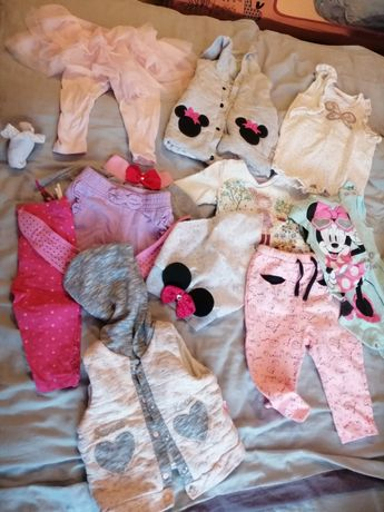 Ubranka dla dziewczynki od 62-80