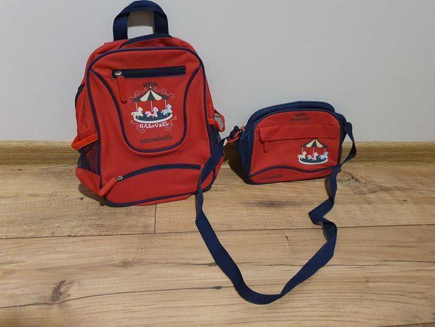 Zestaw Coccodrillo plecak + torebka