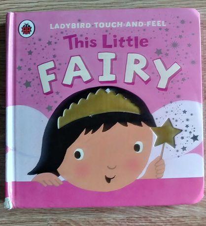 This little fairy. Angielski dla dzieci + sensoryczna, dotykowa