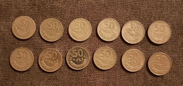 Sprzedam monety 50 groszy