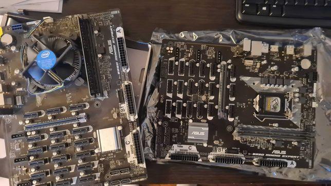 Asus B250 Mining Expert + Intel g4500 + 8gb RAM