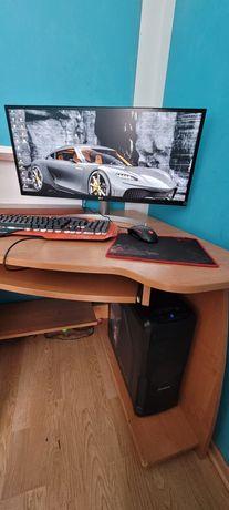 Komputer stacjonarny +wszystko co widoczne na zdjęciu