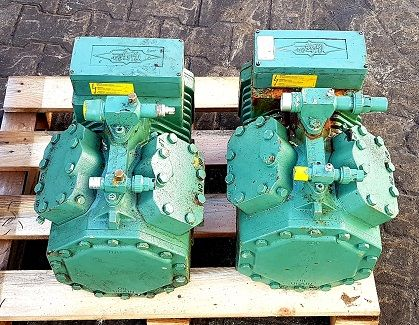 Sprężarka chłodnicza agregat chłodniczy BITZER 4EC-4.2Y-40S, 22.7 m3/