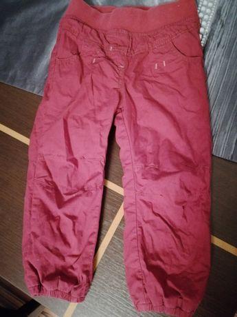 Spodnie ocieplane na podszewce