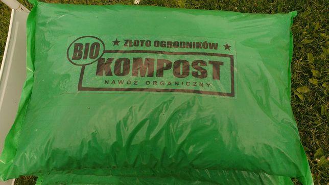 Bio kompost 100% naturalny, zielony