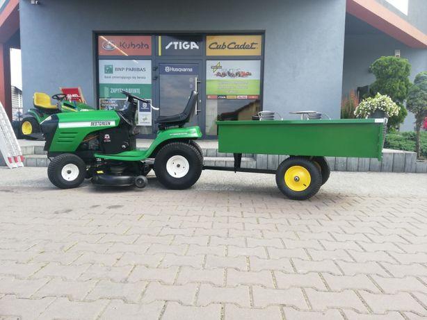 Kosiarka traktor z wyrzutem bocznym Husqvarna Bestgreen 25 KM 117 cm