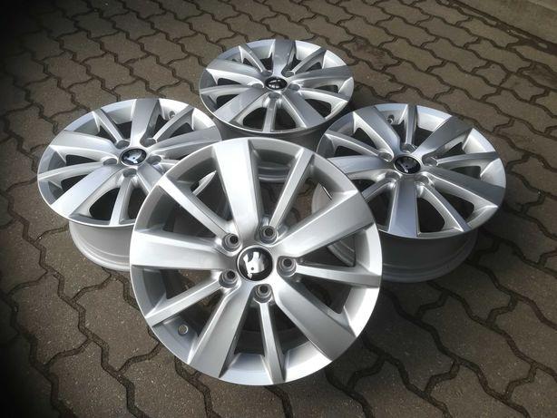 Felgi aluminiowe oryginalne Skoda VW Aud Seat 5x112 Alufelgi R 16 Nowe