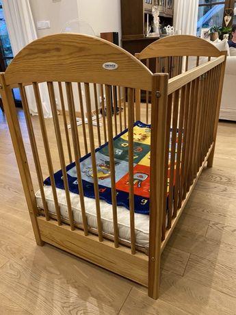 Łóżeczko dziecięce Drewex 60x120 cm drewniane