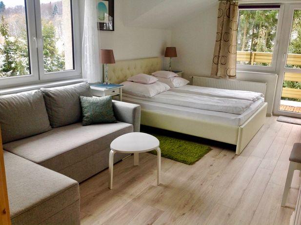 Pokój z łazienką i balkonem lub apartament - Wisła (blisko centrum)