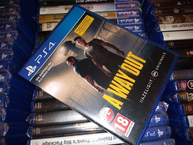 A Way Out pl PS4 możliwość zamiany SKLEP Ursus
