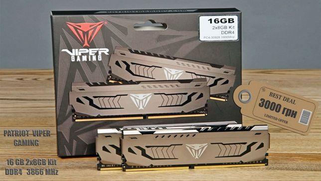 ОЗУ Patriot 16 GB (2x8) DDR4 - 3866 MHz