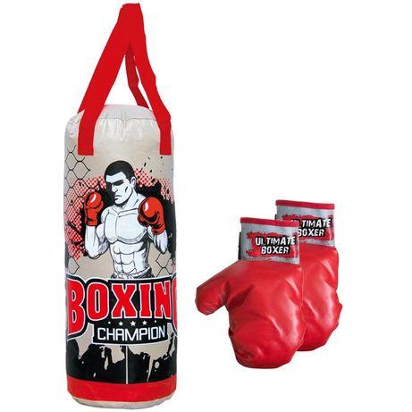 Zestaw bokserski worek,rękawice Junior Enero