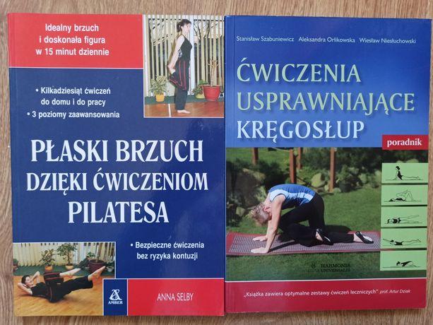 PŁASKI BRZUCH i zdrowy kręgosłup (2 książki)