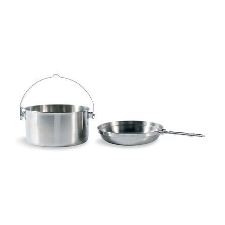 Казанок+сковорода 5размеров нержавейка Tatonka котелок посуда туристич
