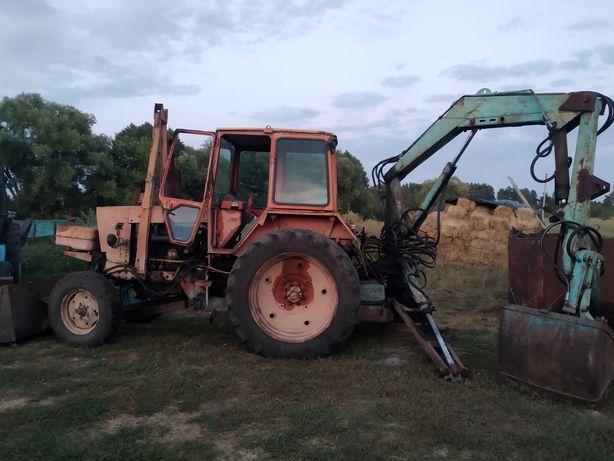 Продам трактор грейферный ЮМЗ