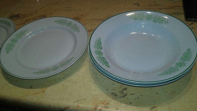 Talerze porcelana serwis obiadowy Włocławek