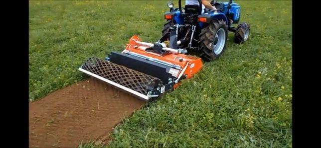 Usługi glebogryzarką separacyjną - teren pod trawnik w 1 dzień