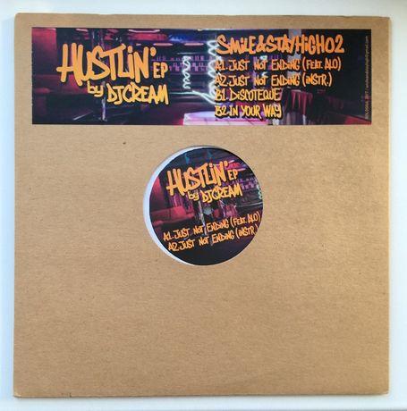Платівка DJ Cream — Hustlin' EP стан конверта NM, стан платівки NM