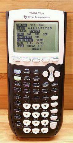 Máquina Calculadora Gráfica TI-84 Plus Não Faço Envios Entrego em Mão