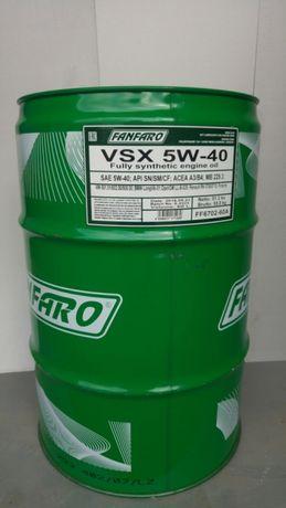Olej silnikowy Fanfaro VSX 5w40 A3/B4 60l GERMANY