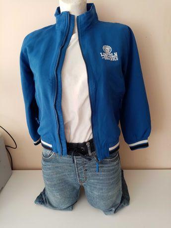 Oryginalna bluza/kurteczka chłopięca LINCOLN SHARKS w rozmiarze 140