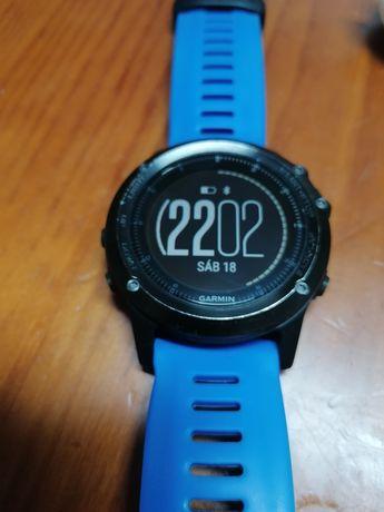 Relógio Garmin Fénix 3 HR Sapphire