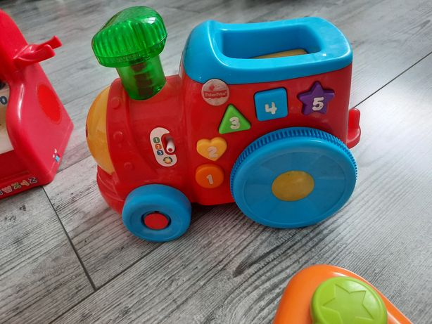 Lokomotywa Fisher Price