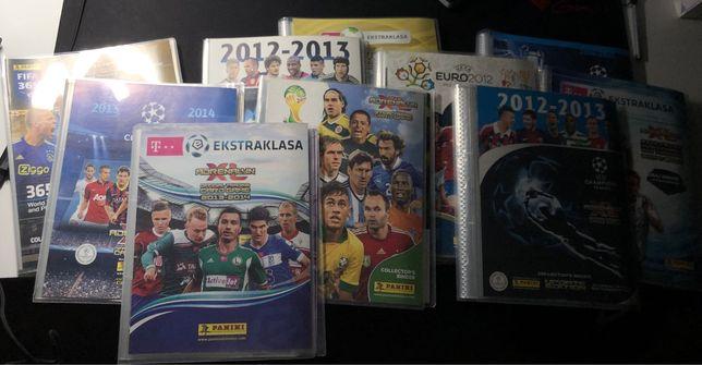 (zobacz opis) Albumy piłkarskie z różnych kolekcji oraz karty