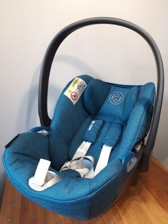 Fotelik nosidełko Cybex Clud Z I-size Mountain Blue, wkładka Aeromoov
