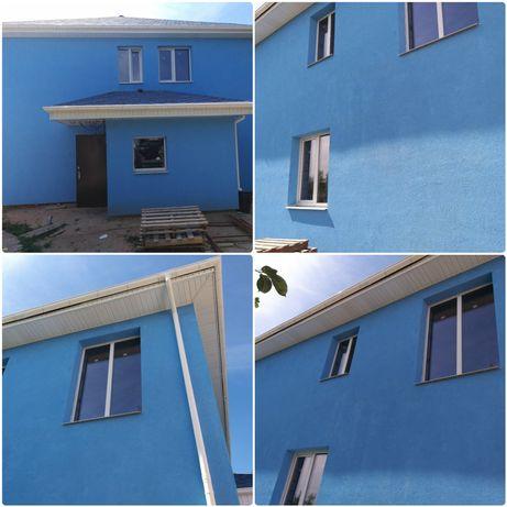 Утепление домов, Квартир, Балконов,Покраск фасадов, Услуги Альпинистов