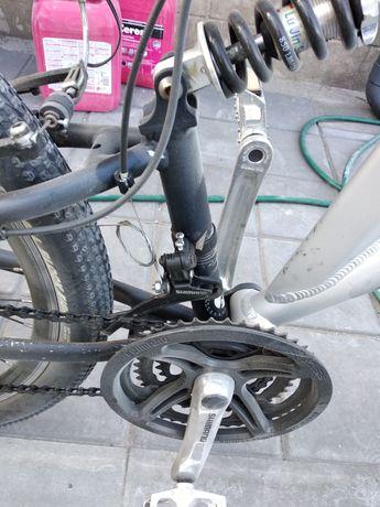 Велосипед Azimut Magnum. 26 колеса. Двухподвес. На ходу.