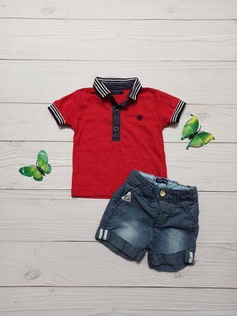 Детский набор шорты и футболка 3-6 мес для мальчика