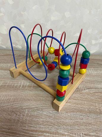 Игрушка IKEA MULA лабиринт для пальчиков
