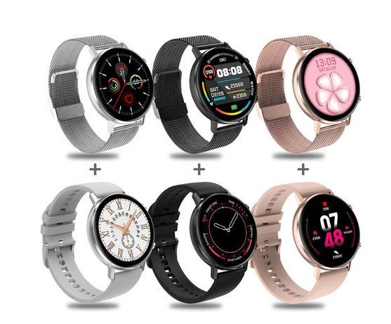 Smartwatch/smarband damski O2 Puls ciśnieniomierz polskie menu