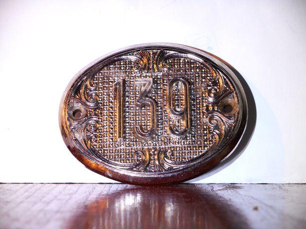 Номерок на дверь 139