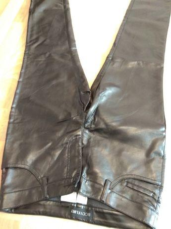 Кожаные штаны брюки еко эко шкіра кожа