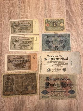 Zamienie banknoty na inne banknoty