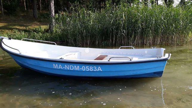łódka wędkarska 4,20x160