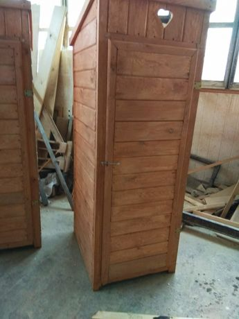 Wychodek drewniany wc toaleta