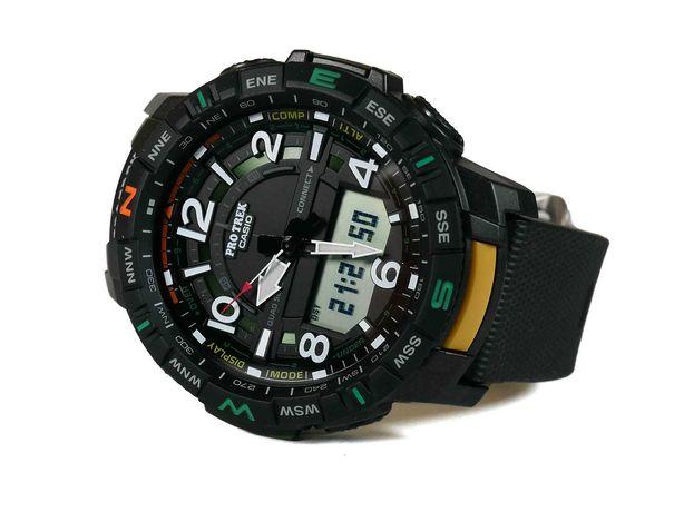 Часы Casio ProTrek PRT-B50-1CR Bluetooth.