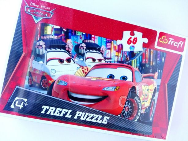 Puzzle Trefl 60 elementów CARS ZYGZAK