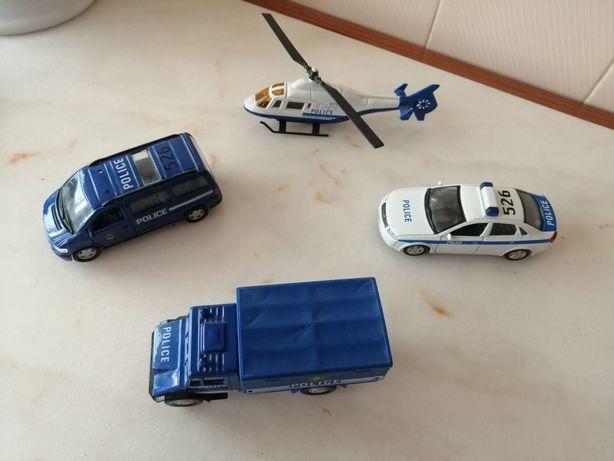 Carros da Polícia em miniatura