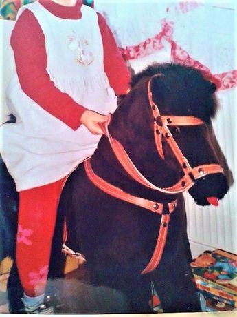 Duży polski koń, konik na biegunach, bujak - jak NOWY