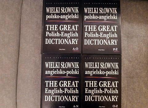 Wielki Słownik Polsko-Angielski, Angielsko-Polski. Stanisławski. BDB!!