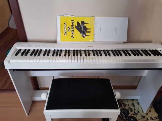 Pianino cyfrowe Kawai ES110 + statyw, pedały, ławka