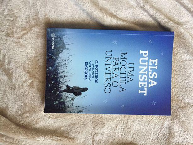 """Livro """"uma mochila para o universo"""" - Elsa Punset"""
